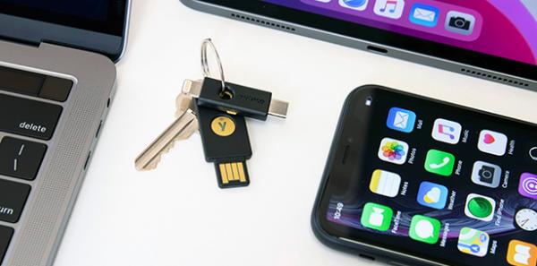 iOS 13.3-opdatering giver fuld understøttelse af fysiske sikkerhedsnøgler