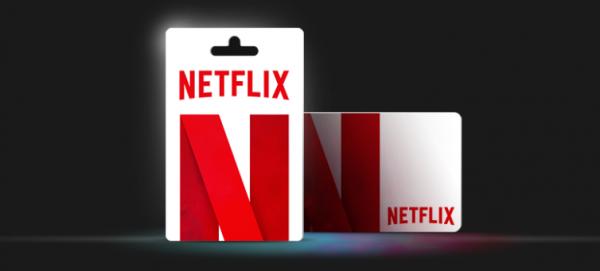 Hvordan giver man gavekort til Netflix?