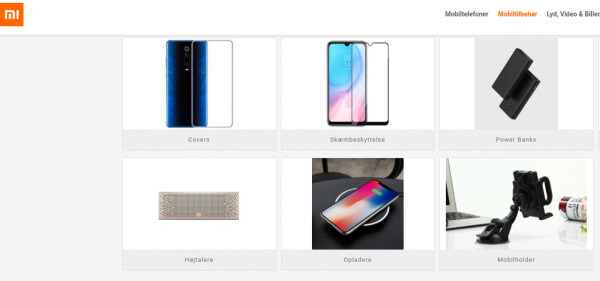 Xiaomi klar med butik i Danmark