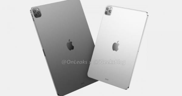 Lækkede billeder af 2020s iPad Pro viser triple kamera
