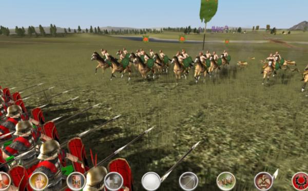 bedste spil til mobil android iphone ROME Total War