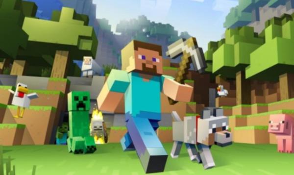 bedste spil til mobil android iphone Minecraft Earth