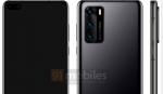 Nye billeder viser Huawei P40 med dual selfie-kamera i punch hole-design