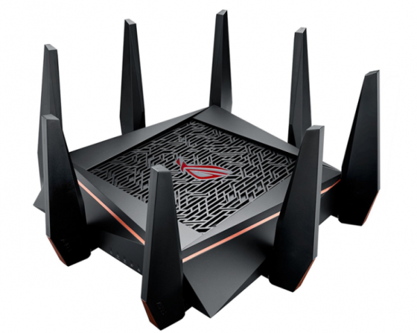 bedste wifi router  Asus ROG Rapture GT-AC5300