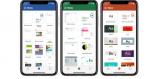 Nyt design af Word, Excel og PowerPoint-apps giver enklere layout på iPhone