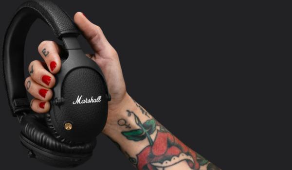 Nye Marshall-høretelefoner med aktiv støjreducering