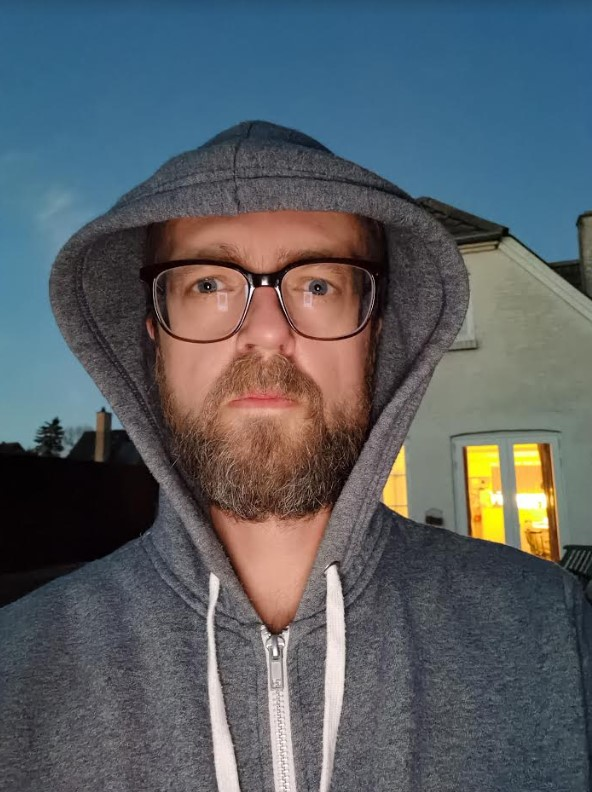 p40 pro kamera selfie mørke