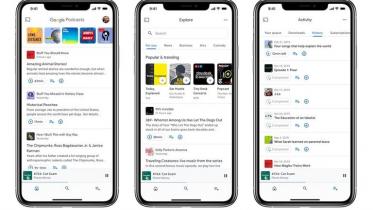 Google Podcast fungerer nu på iOS