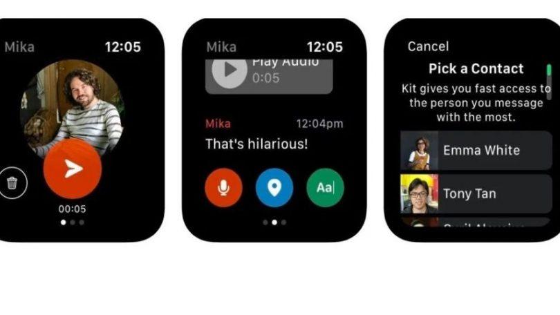 Facebook Kit: Ny chat-app til Apple Watch