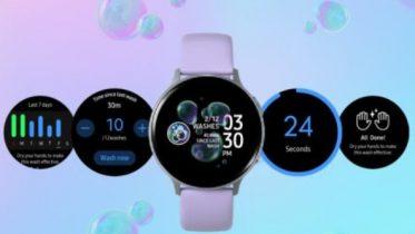 Samsung lancerer håndvask app til Galaxy Watch