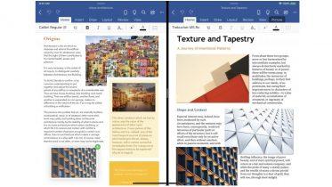 Åbn flere Word-dokumenter i iPadOS på én gang