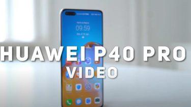 Huawei P40 Pro er blandt de allerbedste telefoner til video