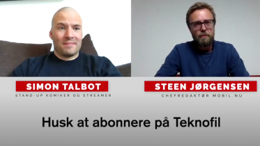 Simon Talbot interview: Komiker og gamer om mobil & tech