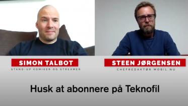 Simon Talbot interview: Komiker og gamer om mobil & tech