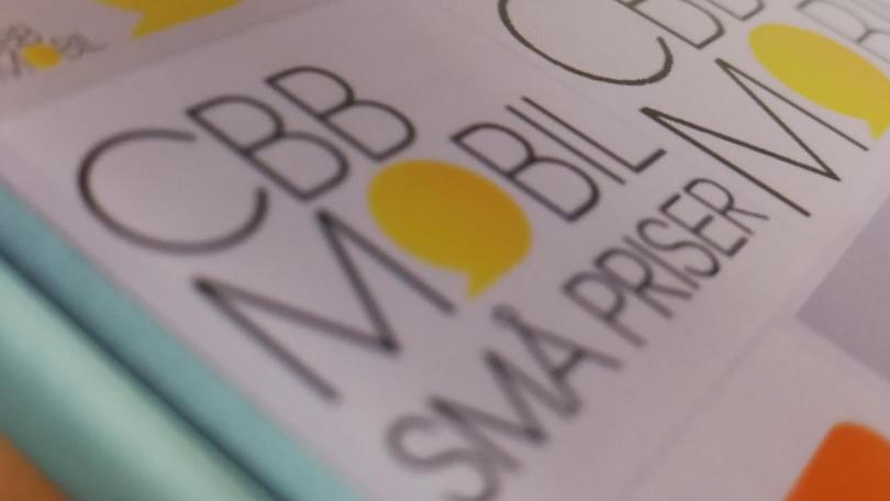 CBB Mobil klar med mobilabonnement fri tale og fri data