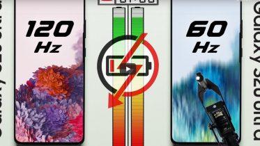 Batteritest: 60Hz vs 120 Hz mobilskærme