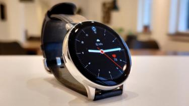 Samsung Galaxy Watch 3 dukker op på Samsungs supportside