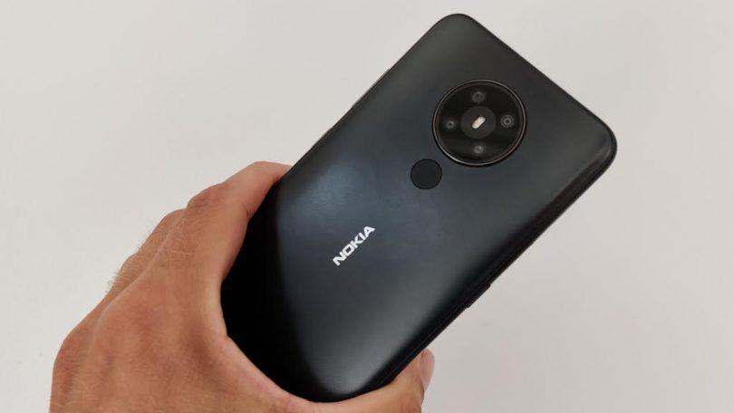 nokia 5.3 test kamera bagside