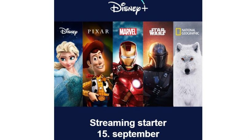 Disney+ klar i Danmark den 15. september – se pris