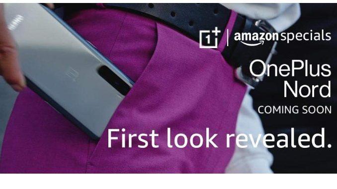 Første produktbillede dukket op af OnePlus Nord