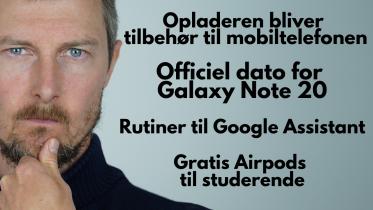 Store forventninger til Samsung Galaxy Note 20