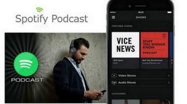 Spotify giver dig listen over de mest populære podcasts