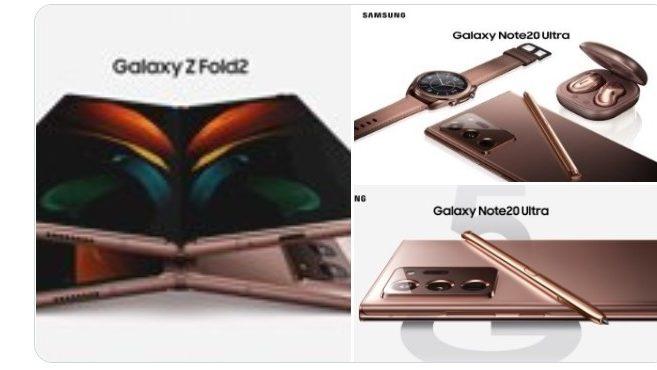 Pressebilleder af Galaxy Z Fold 2 lækker inden officiel afsløring