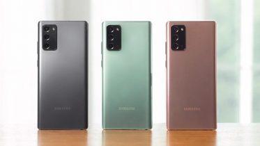 Pris på Samsung Galaxy Note 20 og Note 20 Ultra