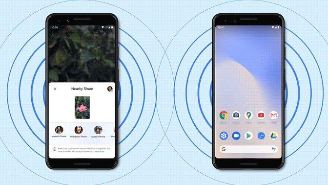 Nearby Share klar til Android – kommer også til Chromebook