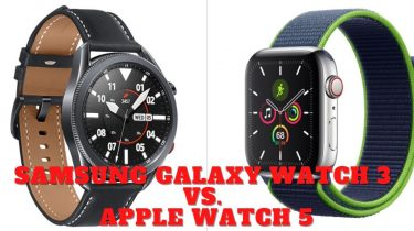 Galaxy Watch 3 vs. Apple Watch 5: Hvilket smartwatch er bedst?