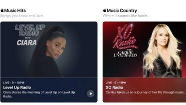 Apple klar med Music 1 + Music Hits og Country