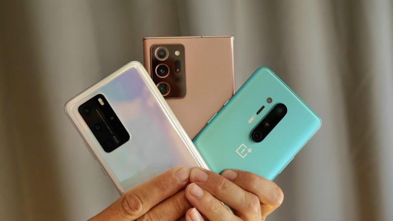 Kameratest: Note 20 Ultra vs OnePlus 8 Pro vs Huawei P40 Pro