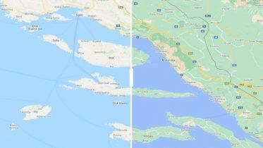 Google Maps får flere farver og flere detaljer