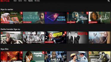 Lad Netflix vælge serie eller film med Shuffle Play-knap