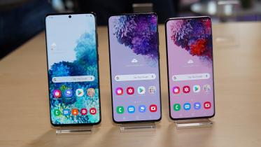 Galaxy S20-serien får opdatering med Note 20 funktioner