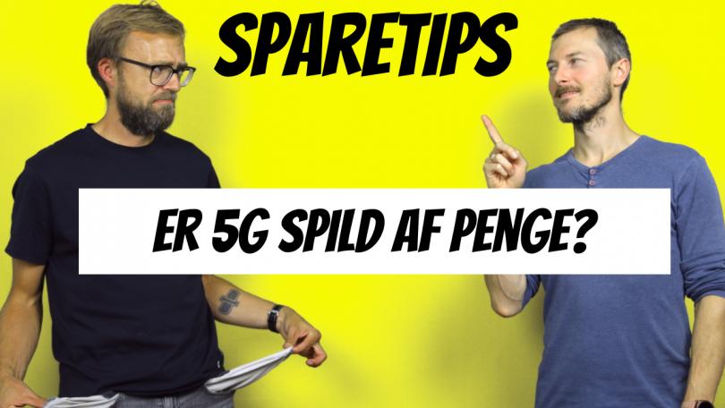 Skal man have et mobilabonnement med 5G?