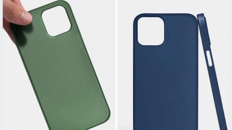 iPhone 12-etuier bekræfter design – sådan ser de ud