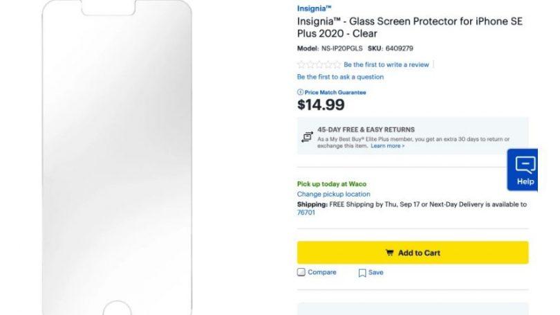 Tilbehør til iPhone SE Plus lagt op hos Best Buy