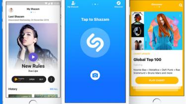 Shazam kommer snart til iPhones kontrolpanel
