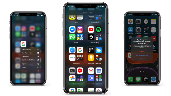 Guide: sådan bruger du appbibliotek i iOS 14 på iPhone