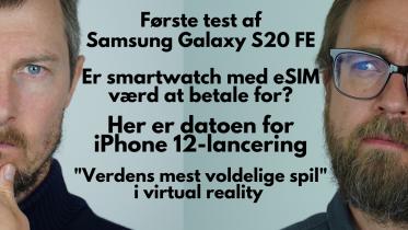 Første indtryk og test af Samsung Galaxy S20 FE