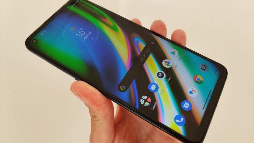 Første indtryk og test af Motorola Moto G9 Plus