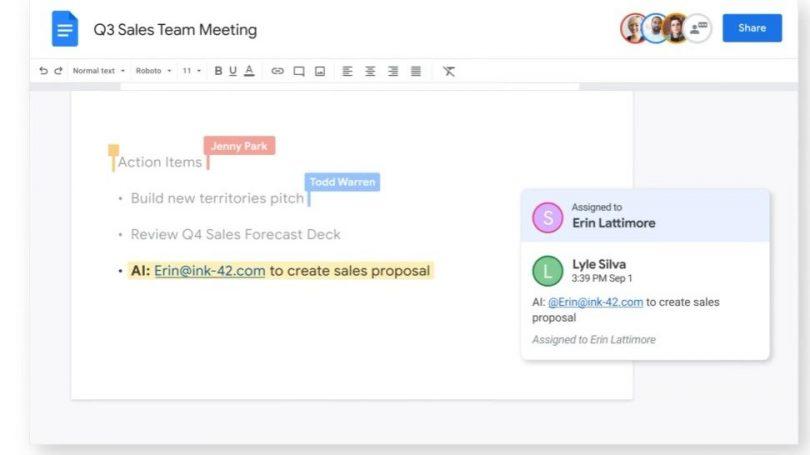 Google går efter øget samarbejde med Workspace suite