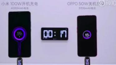 Smartphones med 100W trådløs opladning i 2021