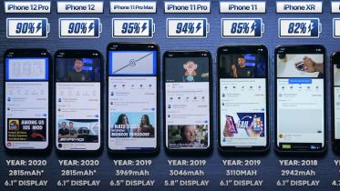 Video: iPhone 12 Pro taber til forgænger i batteritest
