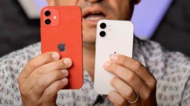 Første hands on-video af iPhone 12 viser hvor lille den er