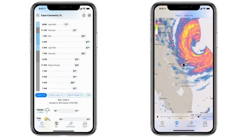 Dark Sky får første opdatering efter Apple-opkøb