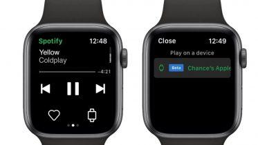 Spotify-app til Apple Watch – stream uden iPhone