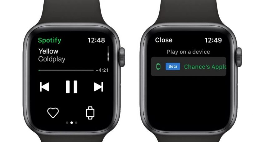 Spotify-app til Apple Watch – stream uden iPhone