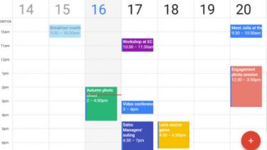 Android 11 kan vise personlige aftaler i din arbejdskalender